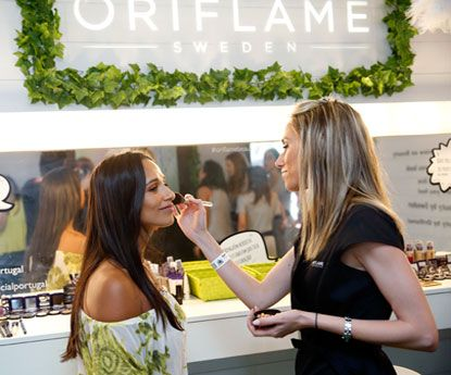 Oriflame Portugal Official Beauty Partner do NOS Alive'18