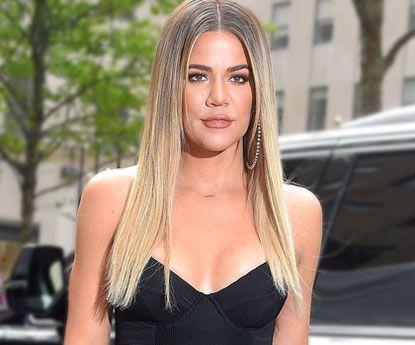 Khloé Kardashian com novo corte de cabelo que será tendência