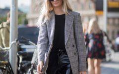 Blazer: peça que dominou o streetstyle nas semanas de moda