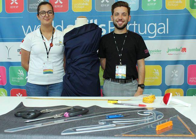 EuroSkills: moda portuguesa representada por dupla do Modatex