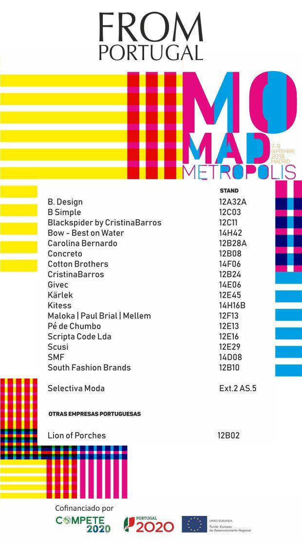 23be83b37cf49 Momad Metropolis  Madrid abre as portas às marcas portuguesas