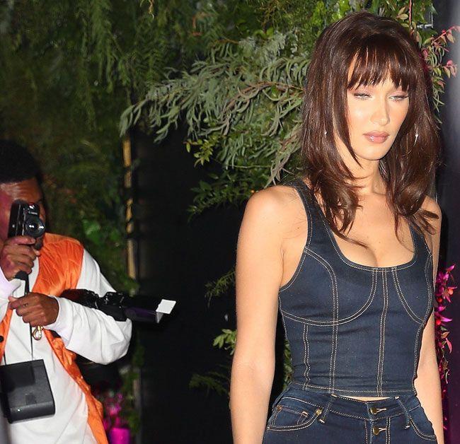 Bella Hadid ou como conseguir um look jeans perfeito