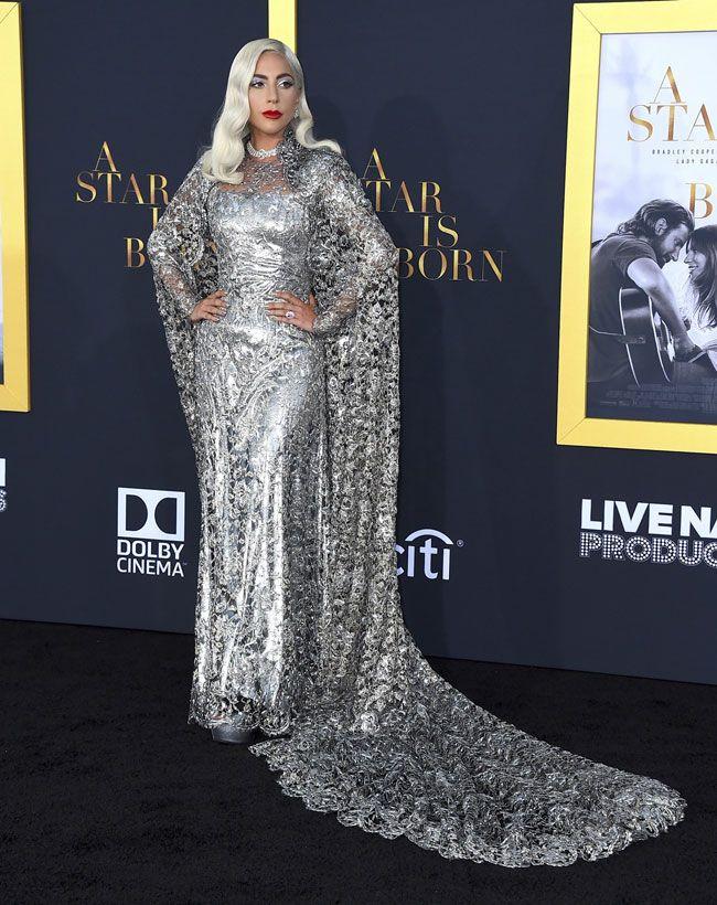 Este é o look mais galáctico de Lady Gaga