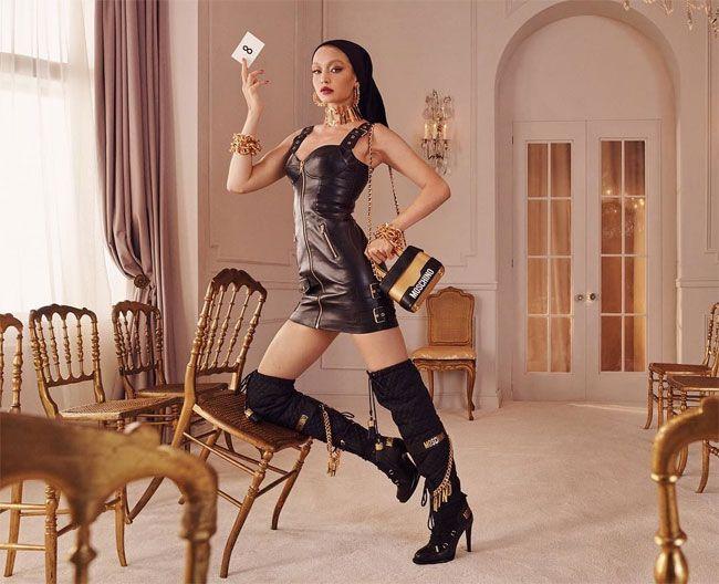 Gigi Hadid é a imagem de Moschino x H&M