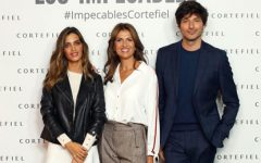 Sara Carbonero e Andrés Valencoso na nova campanha Cortefiel