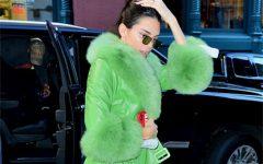 Kendall Jenner estreia os seus 23 anos com estilo (literalmente)
