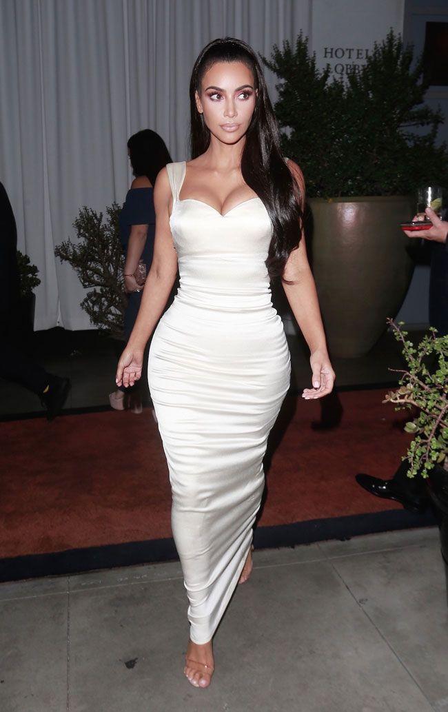 """Kim Kardashian deslumbrou nos prémios """"Gift of Life Gala"""""""