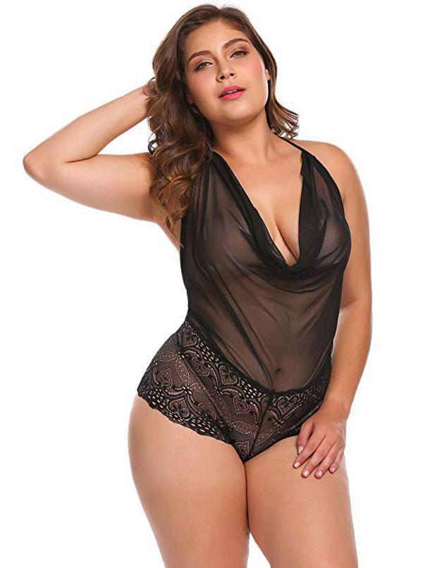4 sexy peças de lingerie para mulheres plus size
