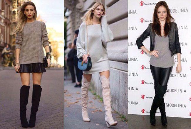 Guia de estilo para looks perfeitos com botas altas