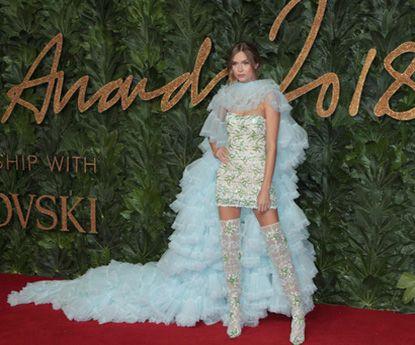 British Fashion Awards 2018: os melhores looks do tapete vermelho