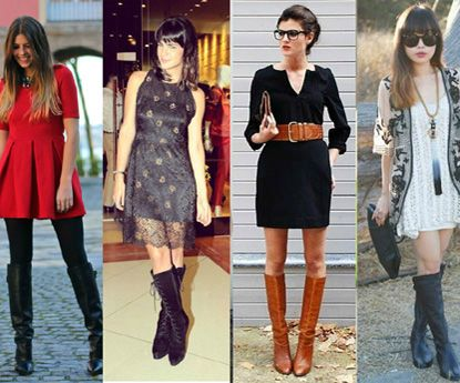 """Como usar botas mosqueteiras e parecer uma """"it girl"""""""