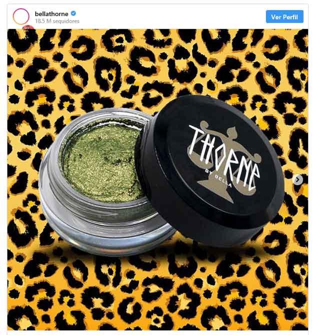 Bella Thorne polémica e nua na sua marca de cosméticos