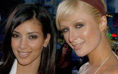 Kim Kardashian e Paris Hilton celebram juntas no Natal
