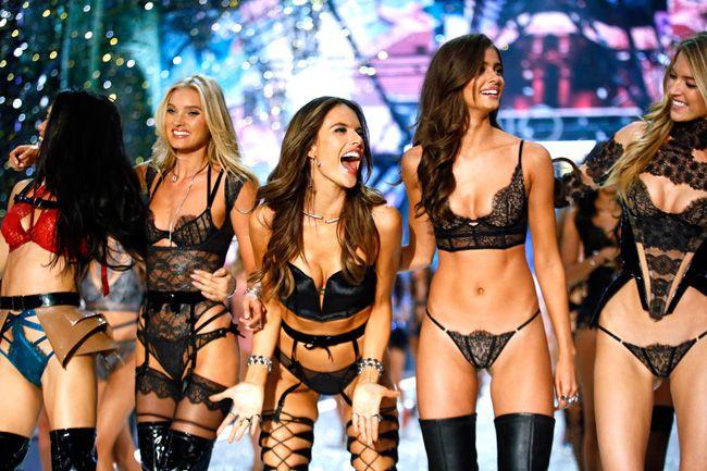 Os looks mais arrojados das modelos de Victoria's Secret