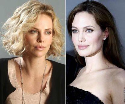 Rivalidade entre Angelina Jolie e Charlize Theron por Brad Pitt