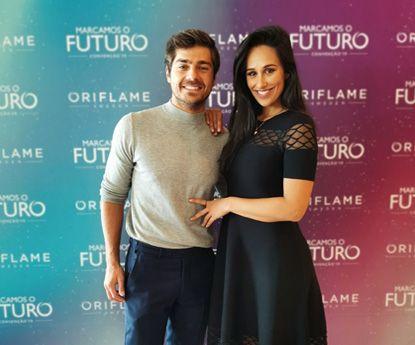 Oriflame renova parceria com Rita Pereira e Lourenço Ortigão