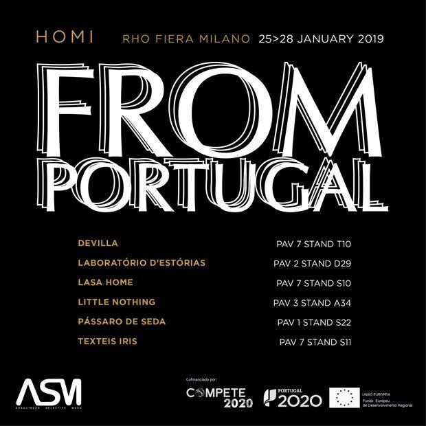 Design português mostra–se em Milão na Homi Milano