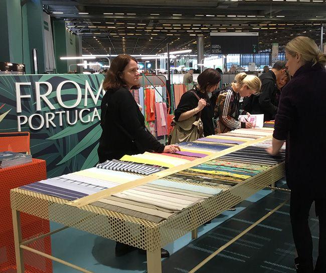 Têxteis nacionais na Premiére Vision, a maior feira têxtil do mundo