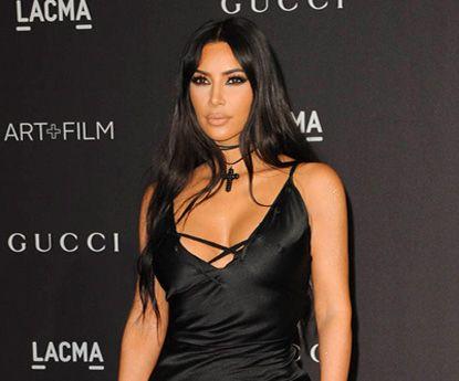 Não sorrir: chave para pele sem rugas, diz Kim Kardashian