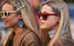O melhor street style em beleza da London Fashion Week