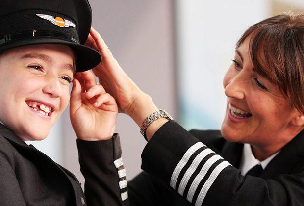 Estereótipos não devem prevenir crianças de voar alto