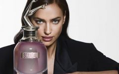 Irina Shayk embaixadora do novo perfume Scandal A Paris