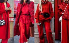 Moda: cor vermelha mais uma vez forte tendência