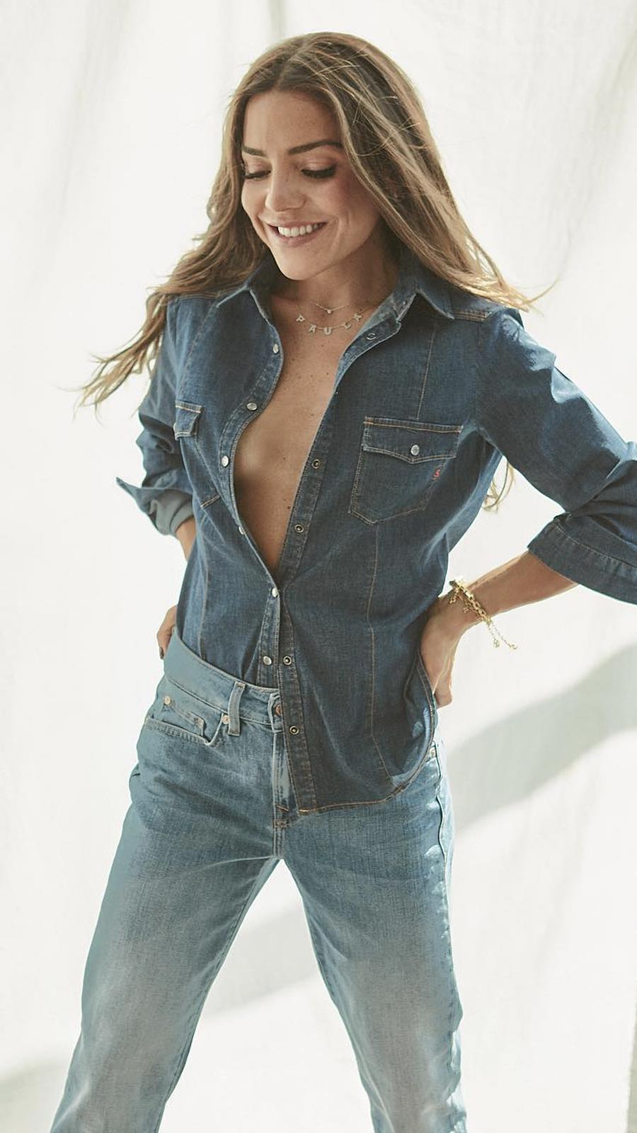 "Combina os teus jeans favoritos como uma ""it girl"""