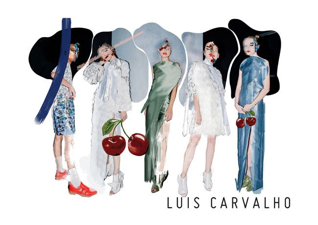 Luis Carvalho apresenta campanha SS19 digital em forma de ilustração