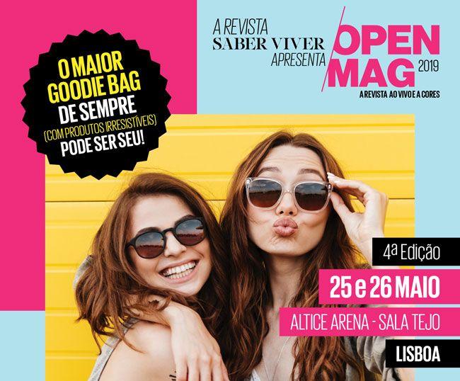 Open Mag regressa nos dias 25 e 26 de Maio