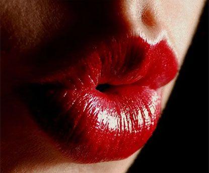 Lábios vermelhos, símbolo de poder e sensualidade