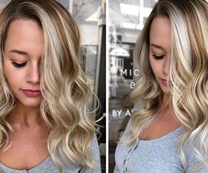 Chardonnay Blonde nova tendência favorita para o cabelo