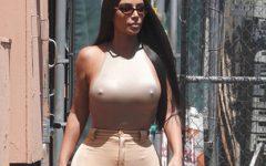 Kim Kardashian volta a mexer com o seu estilo