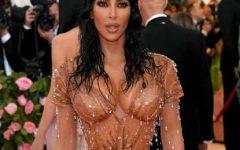 O vestido mais desconfortável que Kim Kardashian já usou