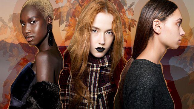 Traçando a tendência de cor de cabelo para o Outono