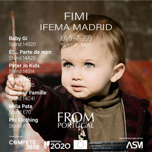 Moda infantil portuguesa marca tendências em Madrid