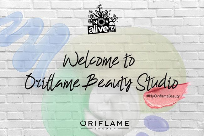 Oriflame Oficial Beauty Partner do NOS Alive 2019