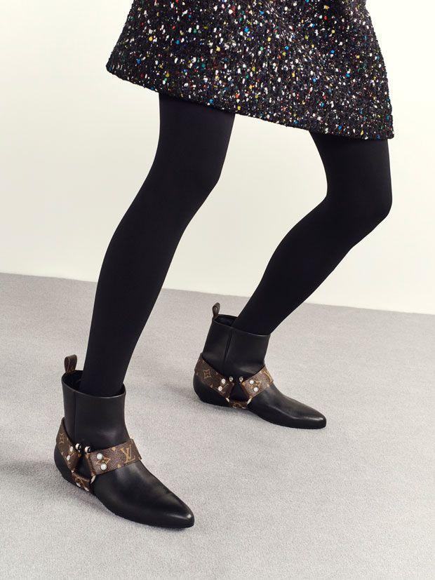 Coleção de calçado Louis Vuitton traz novidades outono/inverno