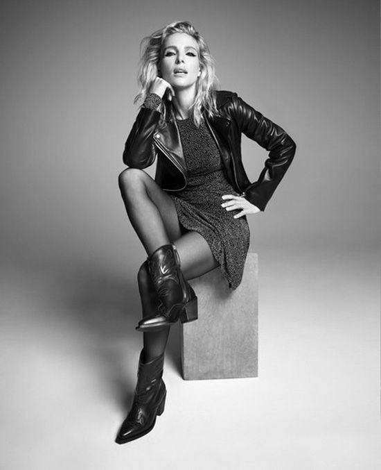 Elsa Pataky na campanha Gioseppo Outono-Inverno 2019/2020
