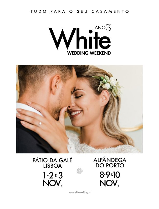 White Wedding Weekend Regressa a Lisboa!
