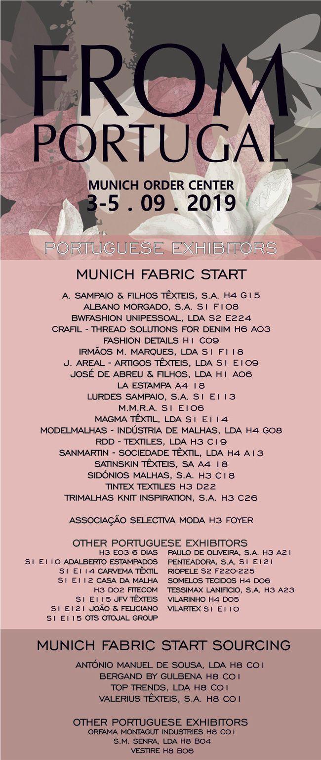 """Têxteis """"From Portugal"""" em Munique com dois palcos"""