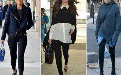 Ando (mesmo) na moda, e sim, uso leggings como calças