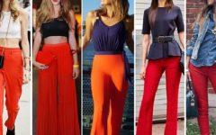 Como usar calças vermelhas e acertar SEMPRE no outfit