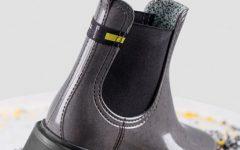 Wasteless Act : zero desperdício botas 100% recicladas