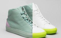 DiVERGE é a marca portuguesa de sneakers 100% personalizáveis