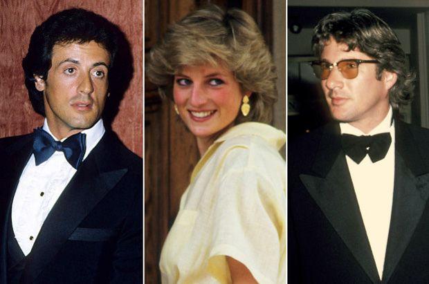 Gere Versus Stallone e no meio, a Princesa de Gales, Diana