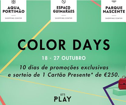 Color days regressam aos Centros Comerciais do Grupo Klépierre