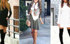 Vestidos e botas: a combinação que arrasa no street style