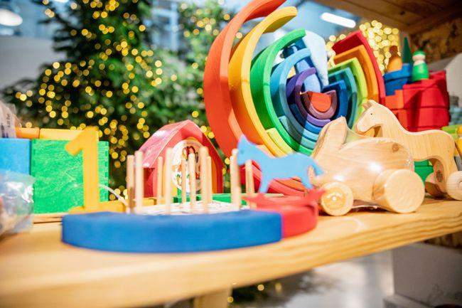 O natal é celebrado do bairro da Maria do Mar