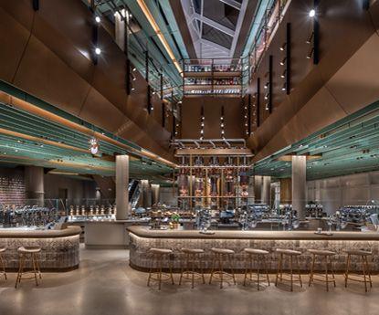 A maior Starbucks do mundo abriu em Chicago